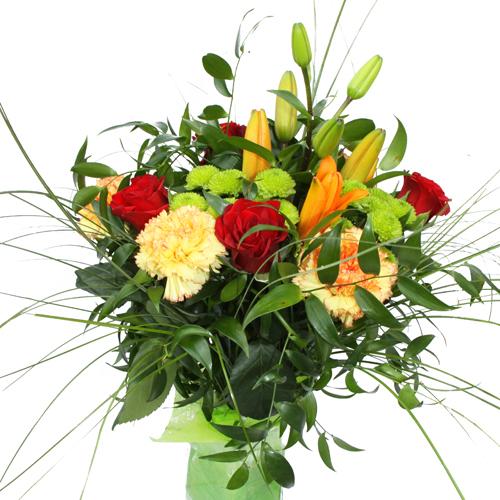 Concours parce que les hommes aussi aiment les fleurs - Bouquet de fleur en coeur ...