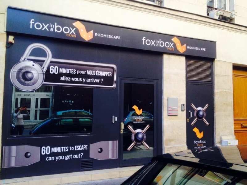 image devanture fox in a box