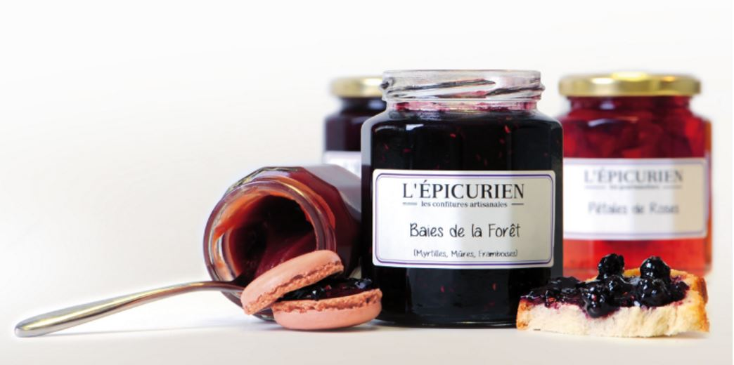 confiture l'epicurien