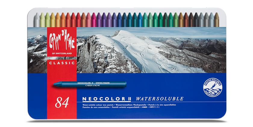 Caran D'Ache: Neocolor et Prismalo, des outils pour la création