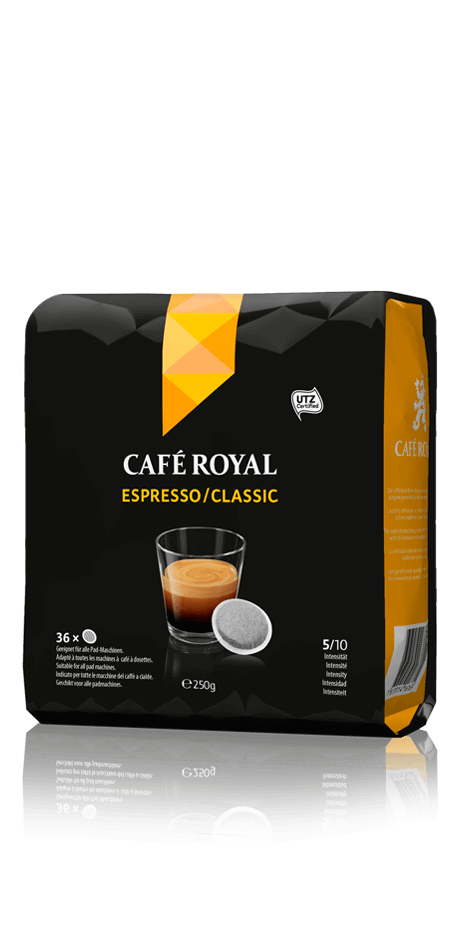 Café Royal présente son offre de dosettes compatibles