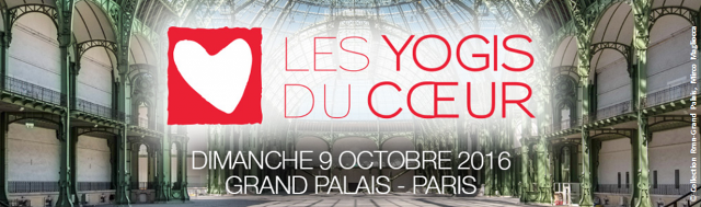 Mécénat Chirurgie Cardiaque: Les Yogis du Coeur au Grand Palais le 9 Octobre