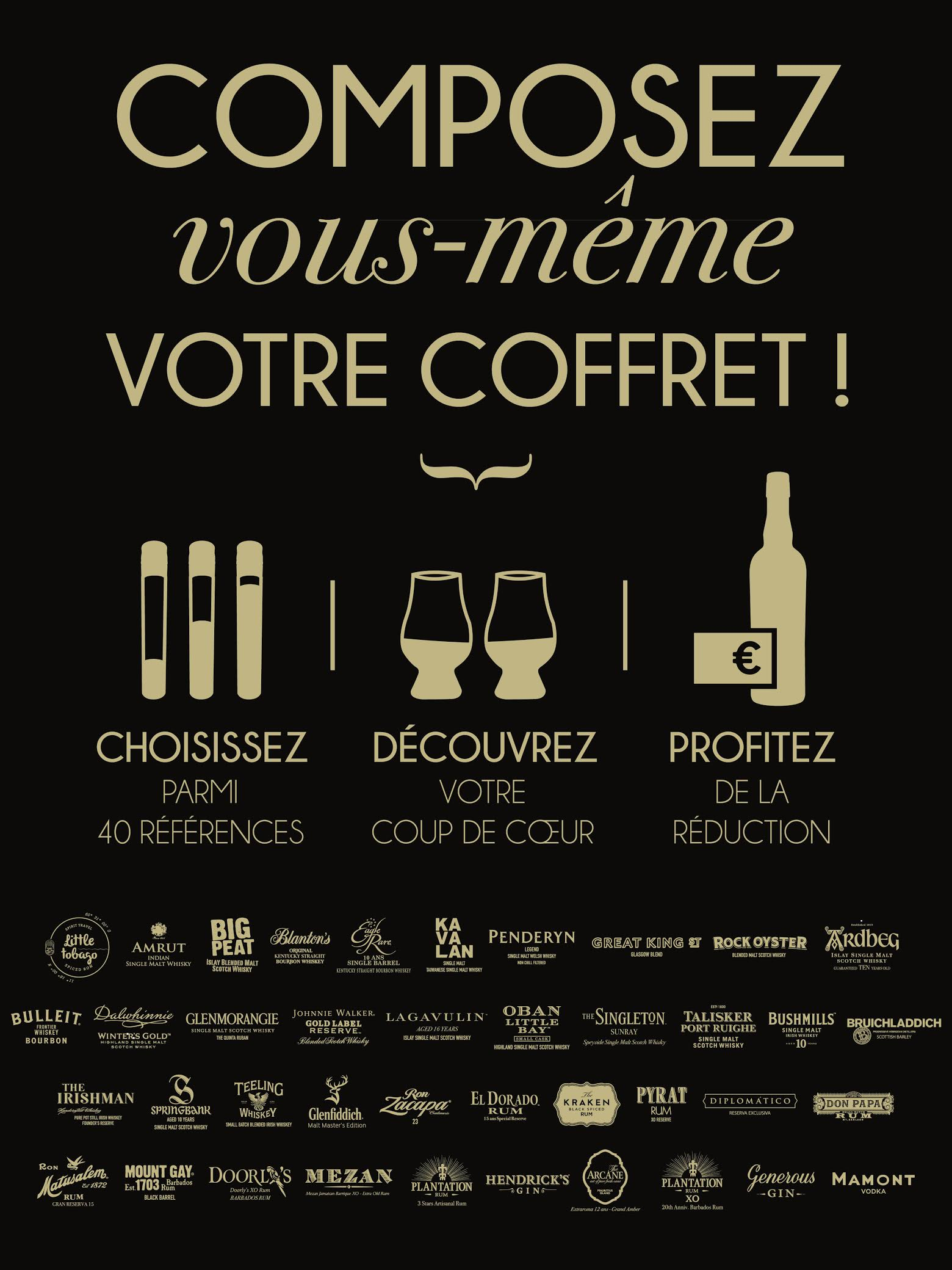 Affiche coffret Spirit Collection