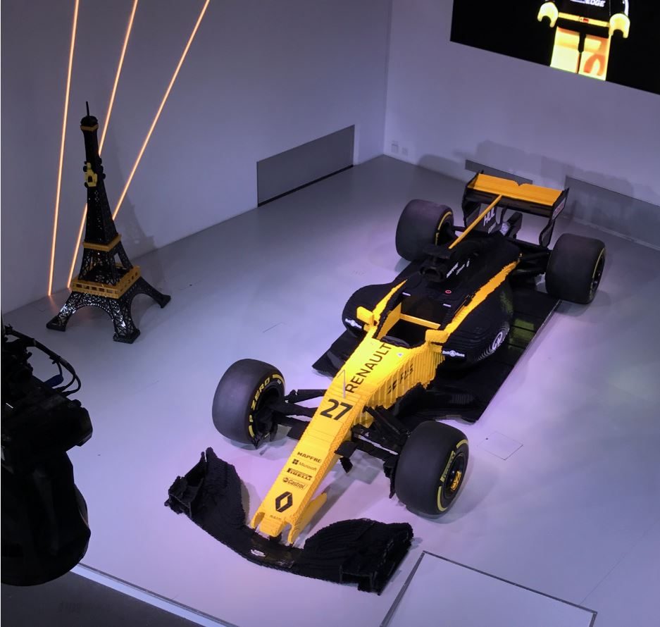 renault sport formula one team et lego france se rencontrent l atelier renault ce que. Black Bedroom Furniture Sets. Home Design Ideas