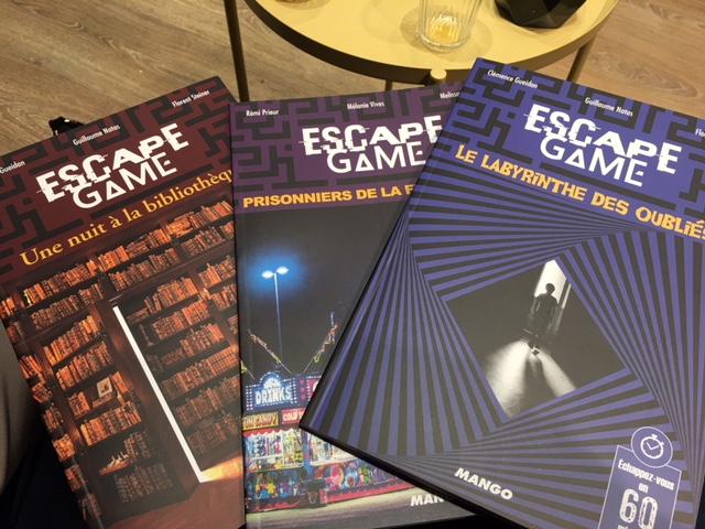 Decouvrez Les 3 Nouveaux Livres Escape Game Par Escape Game