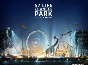 Concours: Gagnez des Pass privilèges pour le S7 Life Changer Park de Samsung
