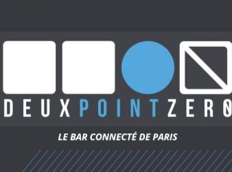 Deux Point Zero:  un bar connecté et branché