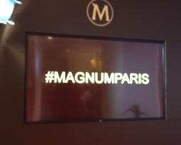 Lancement du pop-up store Magnum à Paris